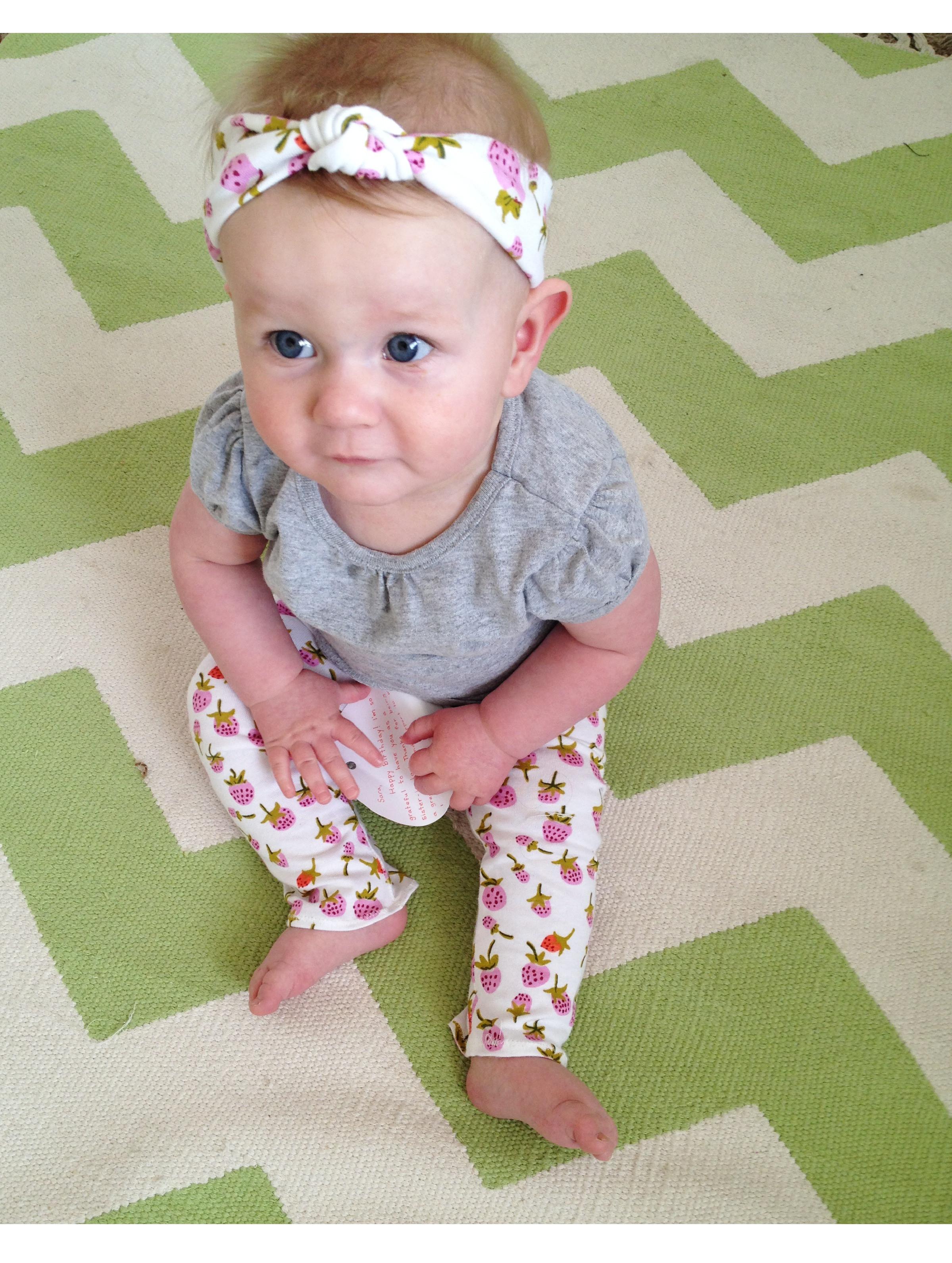DIY Baby Turban Headband  Knotted Baby Turban Tutorial