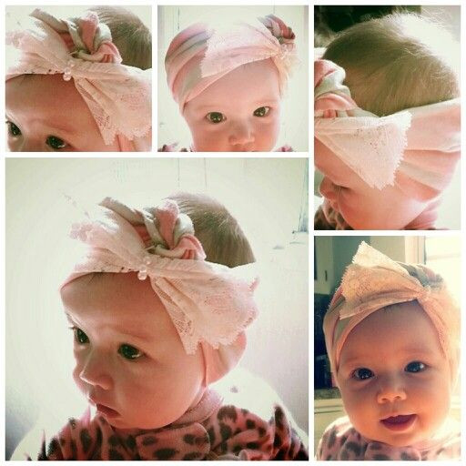 DIY Baby Turban Headband  114 best images about It s a Girl Thing BOWtique on