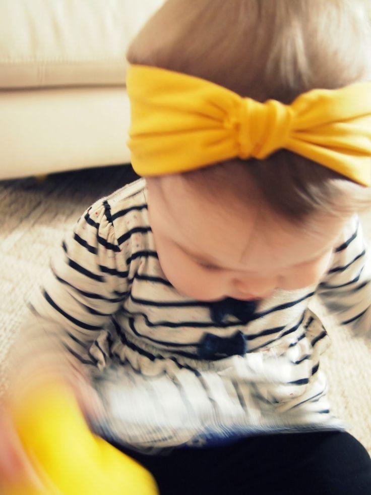 DIY Baby Turban Headband  123 ChaChaCha Turban Headband DIY these are so stinking