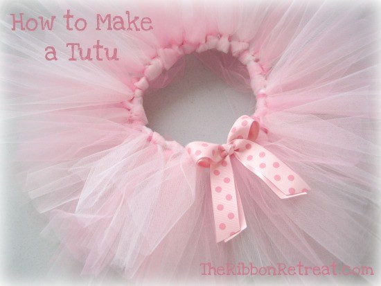 DIY Baby Tutus  How To Make A Tutu The Ribbon Retreat Blog