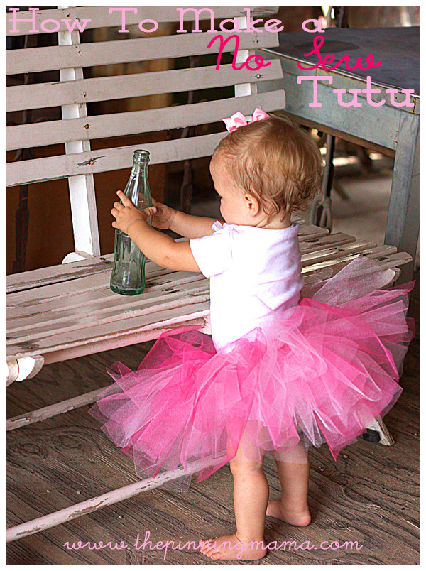 DIY Baby Tutus  45 DIY Tutu Tutorials for Skirts and Dresses