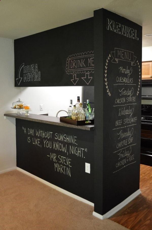 Best ideas about Diy Basement Ideas . Save or Pin 20 Creative Basement Bar Ideas Hative Now.