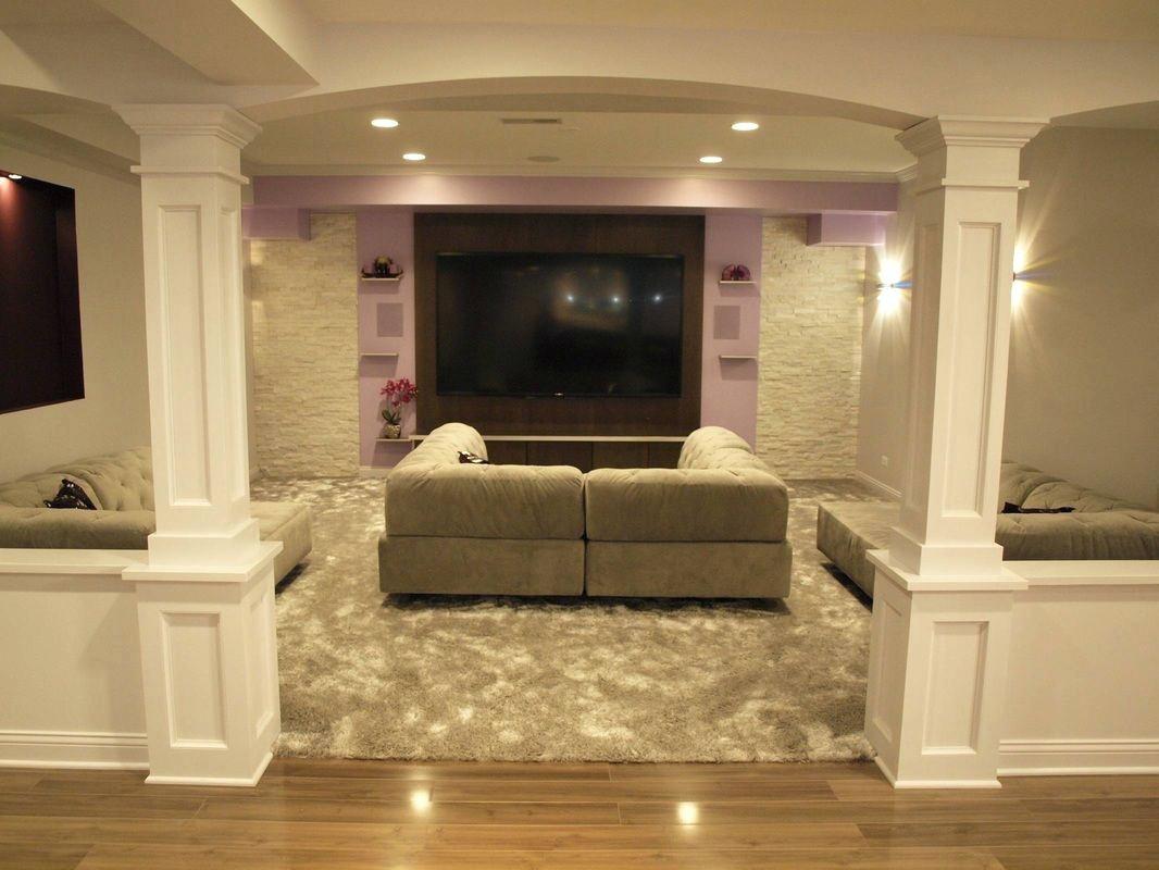 Best ideas about Diy Basement Ideas . Save or Pin Diy Basement Finishing — New Home Design Basement Now.