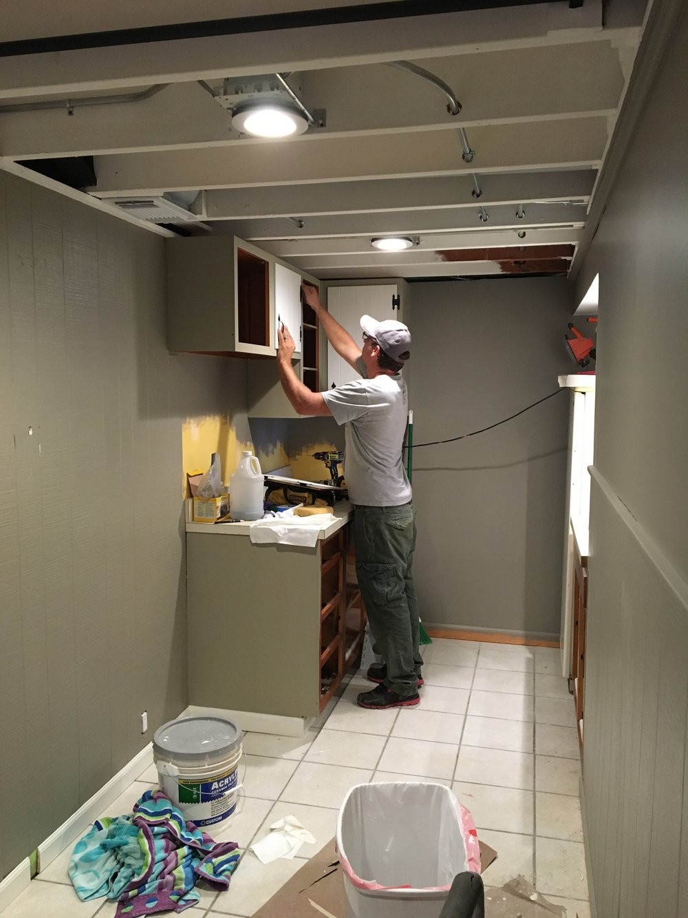Best ideas about Diy Basement Ideas . Save or Pin $1000 DIY Basement Renovation — First Thyme Mom Now.