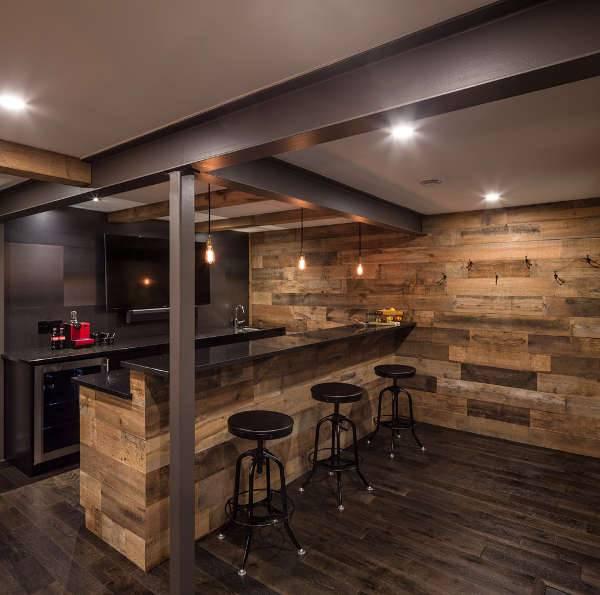 Best ideas about Diy Basement Ideas . Save or Pin 12 Basement Bar Designs Ideas Now.