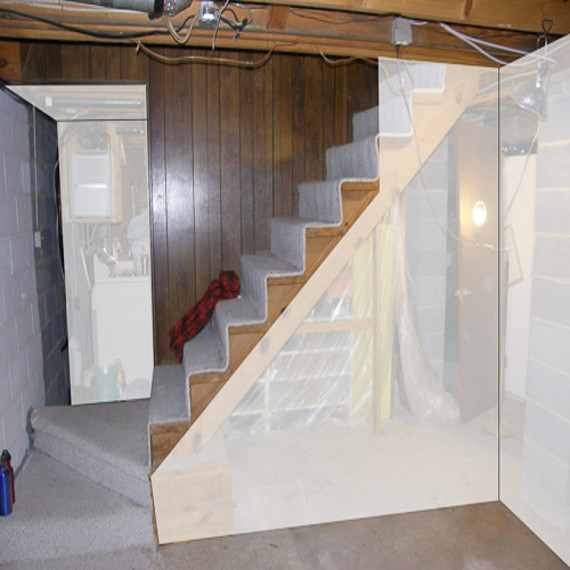 Best ideas about Diy Basement Ideas . Save or Pin Diy basement remodel diy basement stairs ideas small Now.