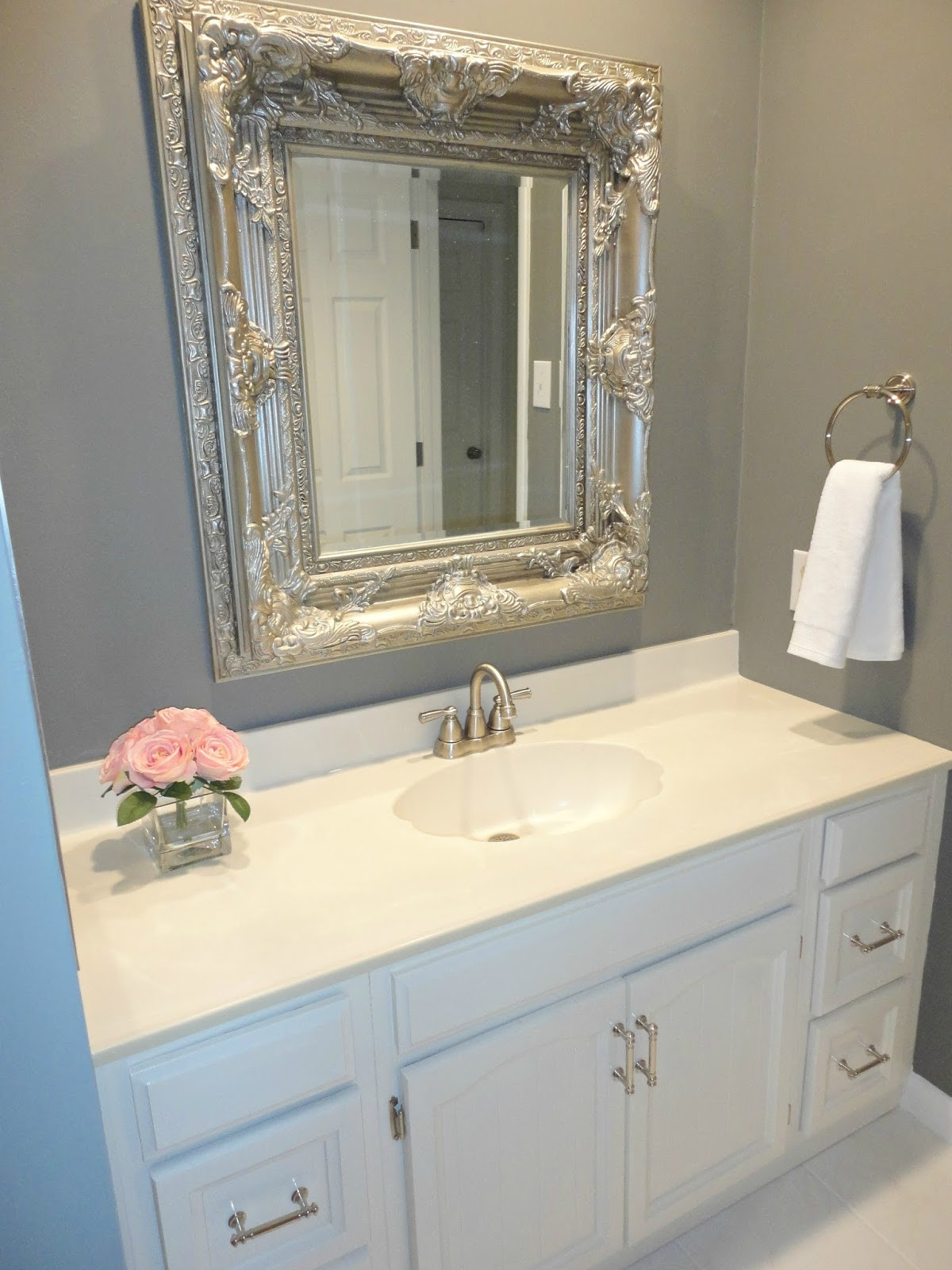 Best ideas about Diy Bathroom Remodel . Save or Pin cheap diy bathroom renovation ideas DIY Bathroom Remodel Now.