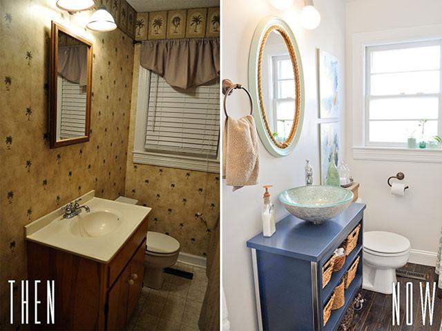 Best ideas about Diy Bathroom Remodel . Save or Pin DIY Bud Bathroom Renovation Reveal Now.
