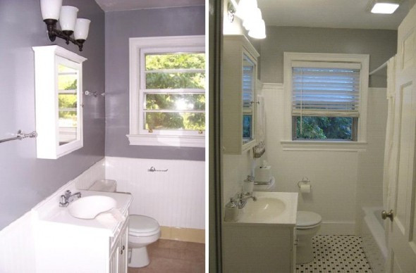 Best ideas about Diy Bathroom Remodel . Save or Pin diy half bathroom remodel DIY Bathroom Remodel Project Now.