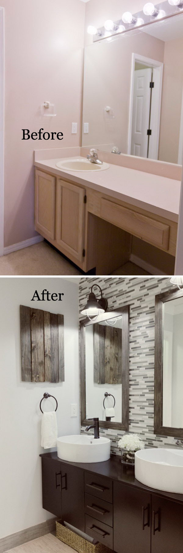 Best ideas about Diy Bathroom Remodel . Save or Pin The Immensely Cool Diy Bathroom Remodel Ways You Cannot Now.