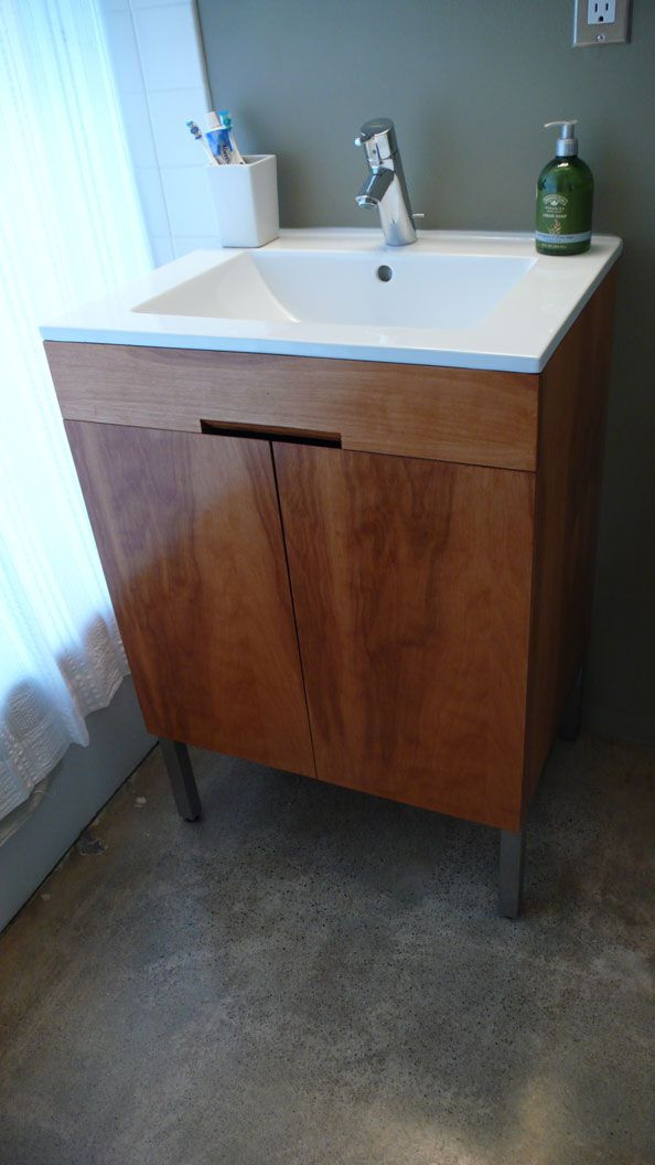 Best ideas about DIY Bathroom Vanity Plans . Save or Pin Building A Bathroom Vanity From Scratch WoodWorking Now.