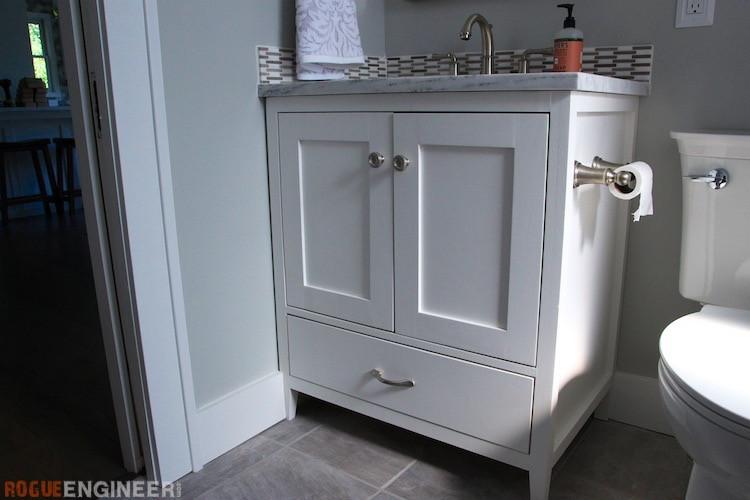 Best ideas about DIY Bathroom Vanity Plans . Save or Pin 30in Bathroom Vanity Rogue Engineer Now.