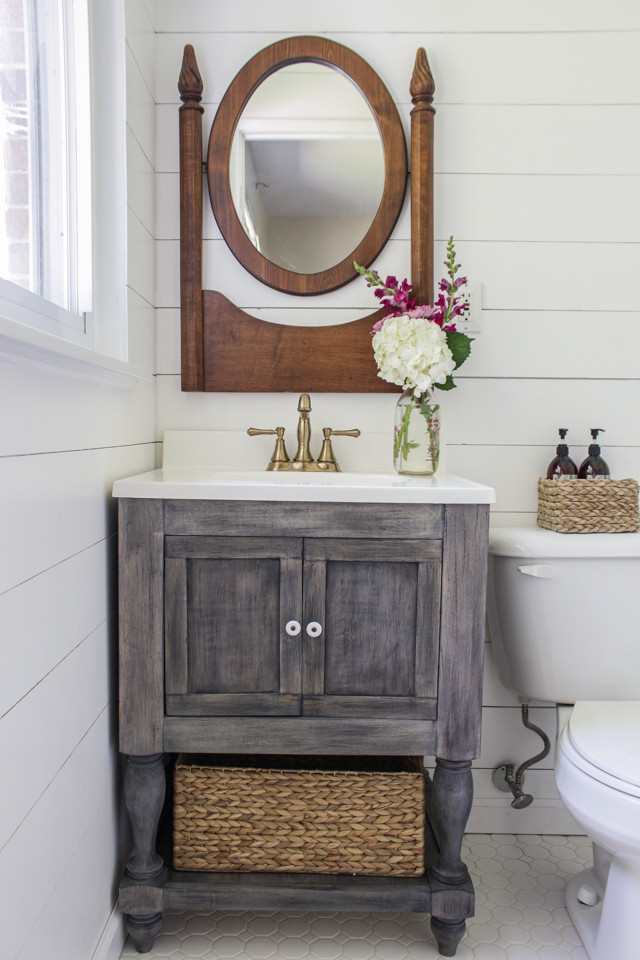 Best ideas about DIY Bathroom Vanity Plans . Save or Pin Ana White Now.