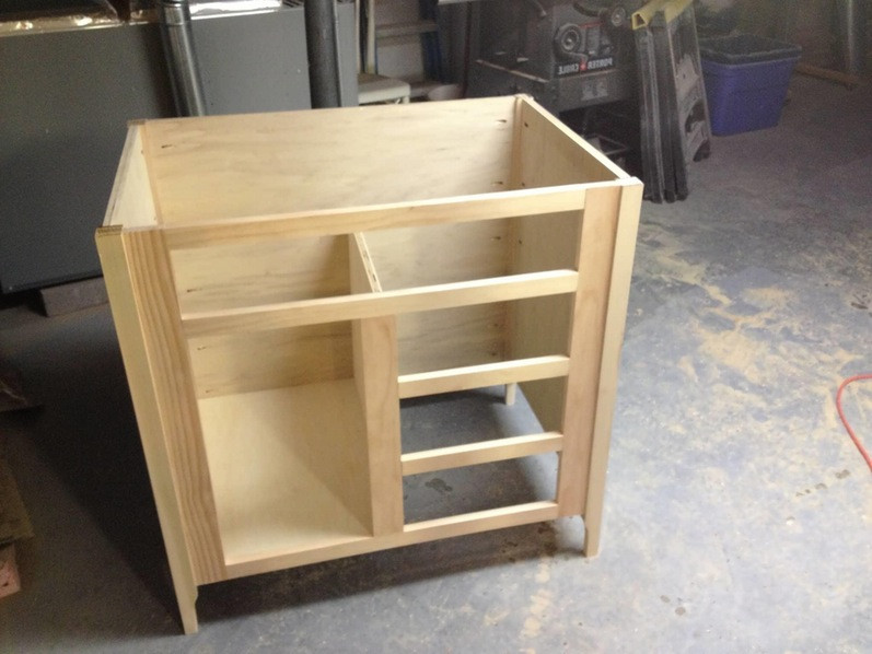 Best ideas about DIY Bathroom Vanity Plans . Save or Pin Bathroom Rustic Vanities Without Tops With Storage Base Now.