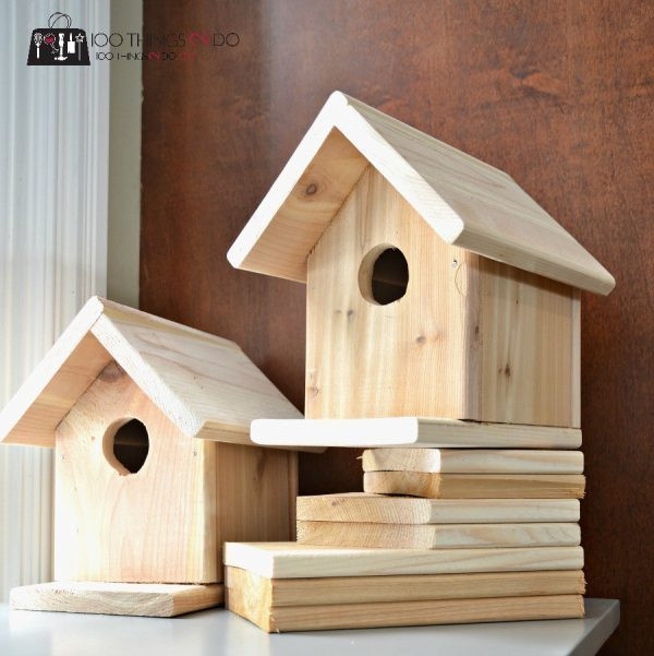 DIY Birdhouse Kit  53 DIY Bird House Plans that Will Attract Them to Your Garden