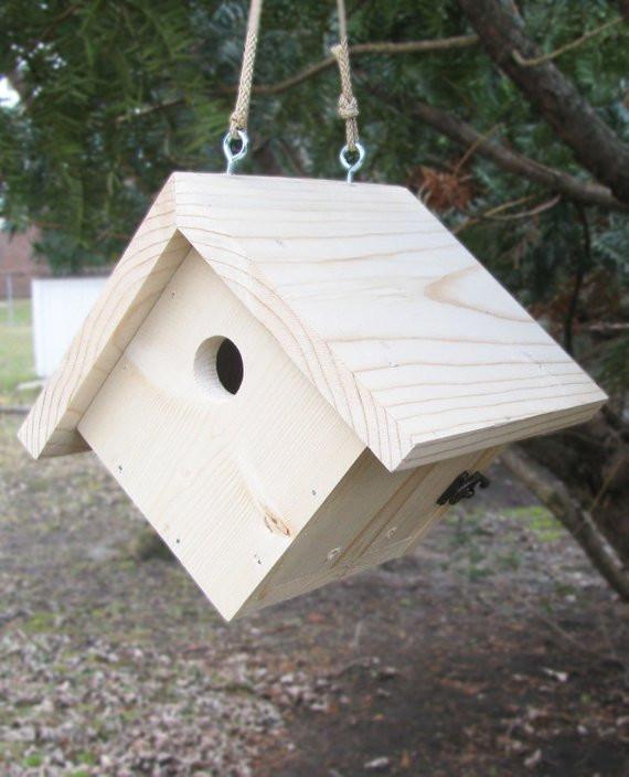 DIY Birdhouse Kit  DIY Bird House Kit Traditional Wren Great Woodcraft for