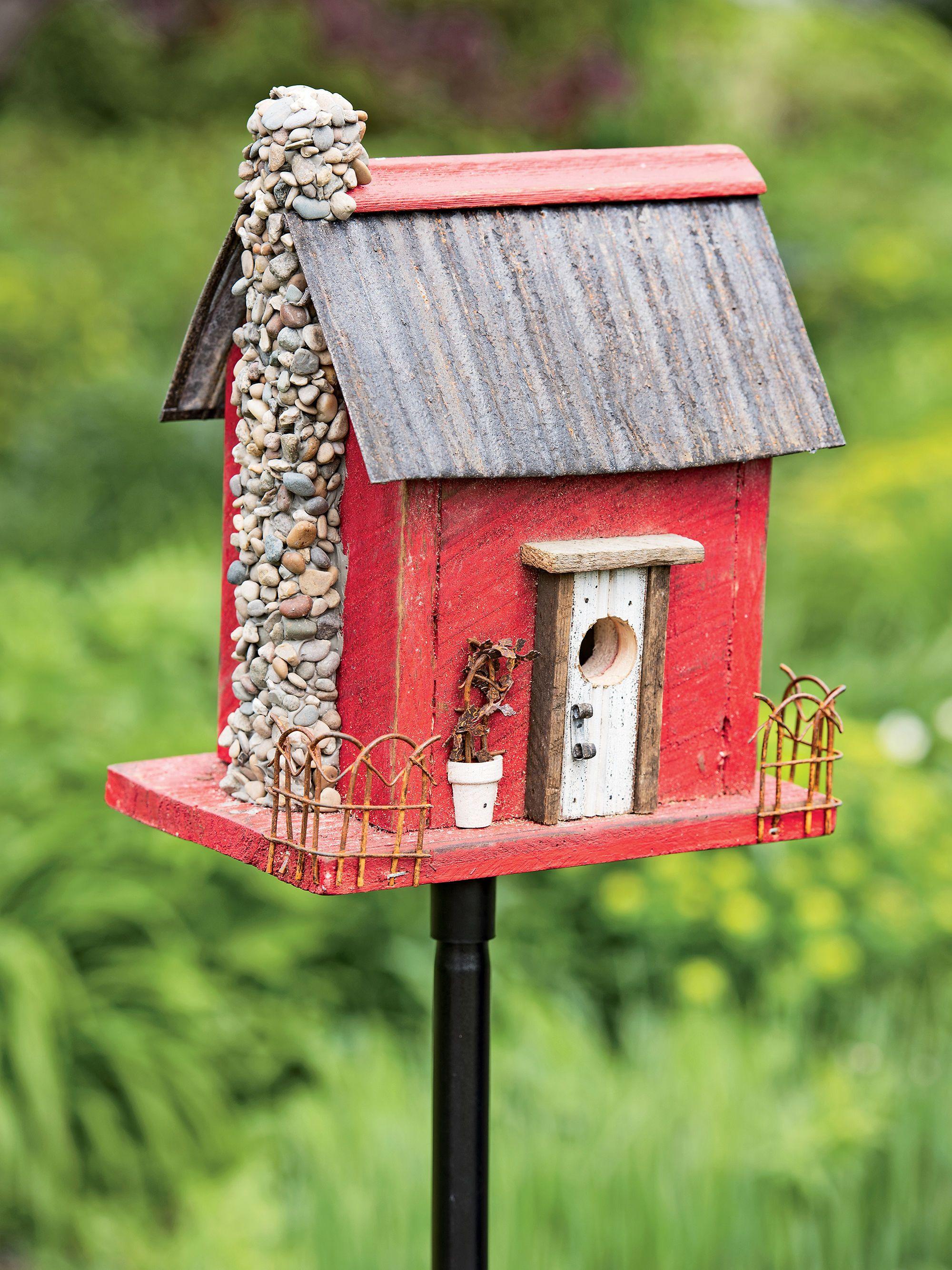 DIY Birdhouse Kit  DIY Birdhouse Green Birdhouse Birdhouse Kit Bird