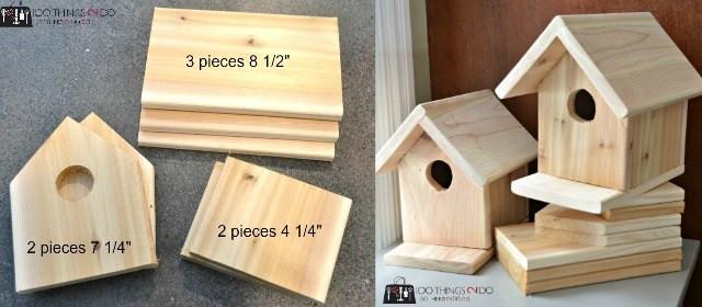 DIY Birdhouse Kit  DIY Birdhouse