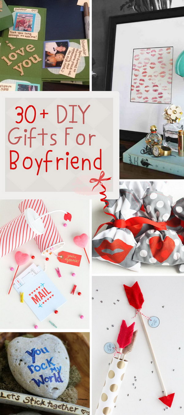 Best ideas about Diy Birthday Gift Ideas For Boyfriend . Save or Pin 30 DIY Gifts For Boyfriend Noted List Now.