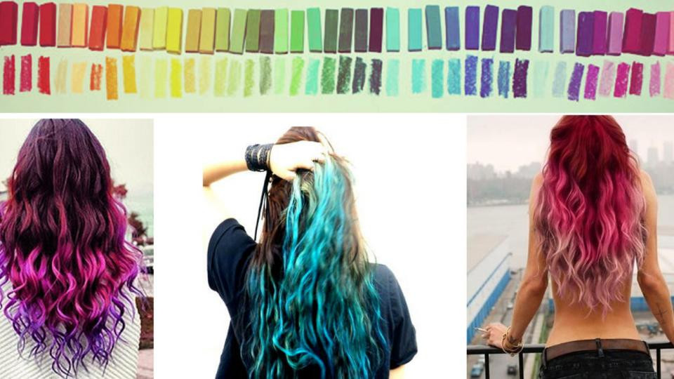 Best ideas about DIY Blue Hair Dye . Save or Pin New Style Temporary 1Pc Hair Dye Color DIY Hair Cream Mix Now.