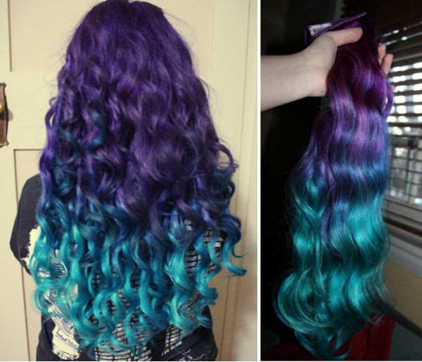 Best ideas about DIY Blue Hair Dye . Save or Pin Ombre Hair Extensions Vpfashion Now.