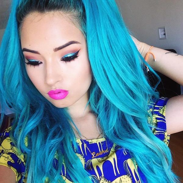 Best ideas about DIY Blue Hair Dye . Save or Pin Blue Dip Dye Hair Colors Archives Vpfashion Vpfashion Now.