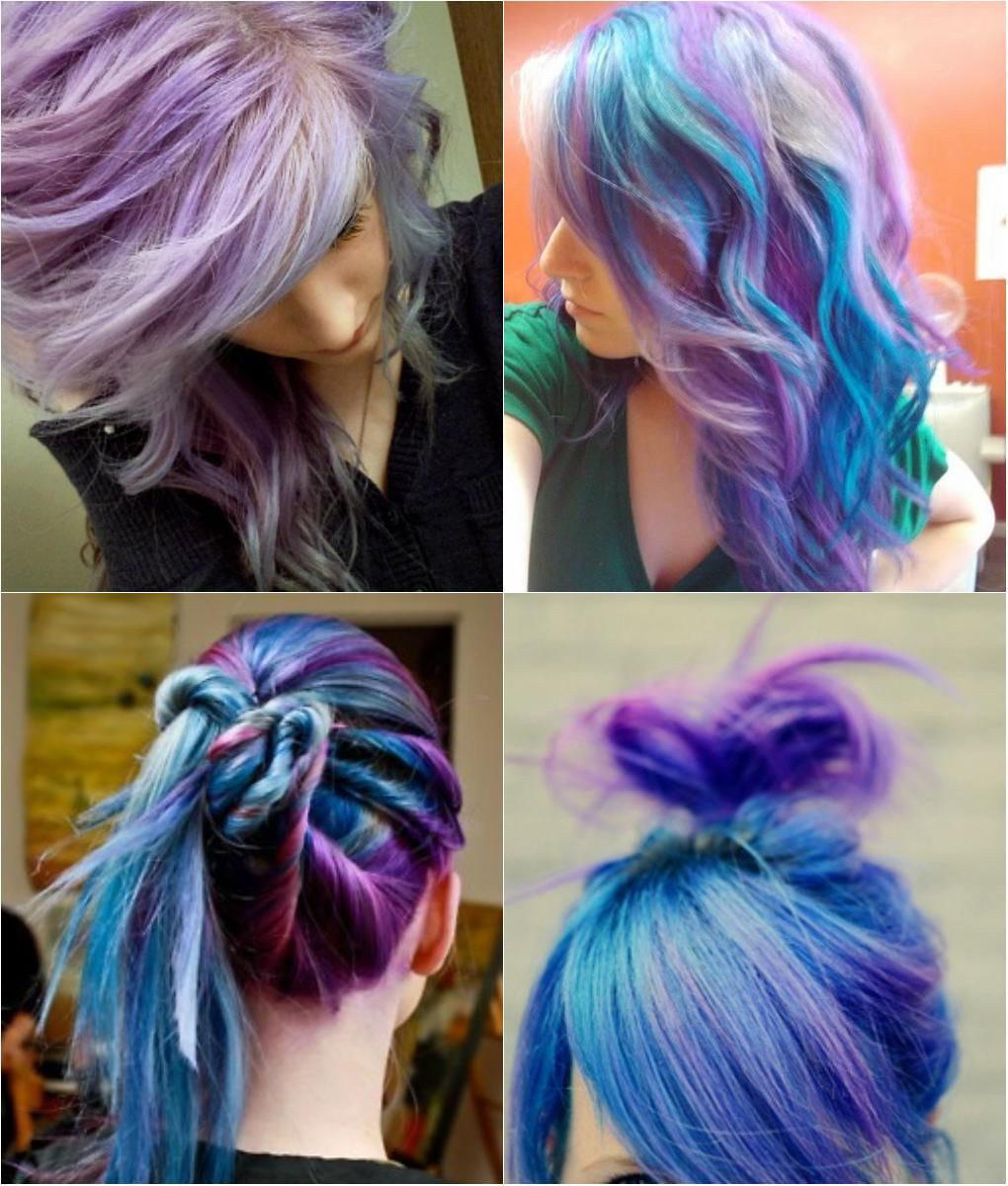 Best ideas about DIY Blue Hair Dye . Save or Pin Hair tips and ideas DIY Color Hair Blue and Violet Now.