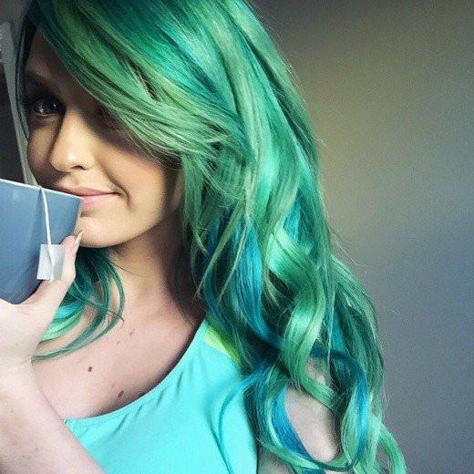 Best ideas about DIY Blue Hair Dye . Save or Pin DIY Hair 10 Ways to Dye Mermaid Hair Now.