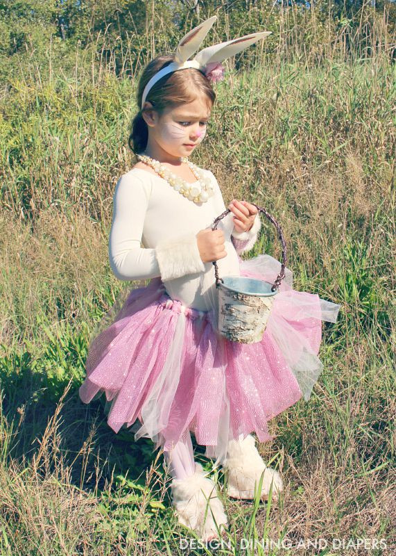 DIY Bunny Costume Toddler  Shabby Chic DIY Kids Bunny Costume Taryn Whiteaker