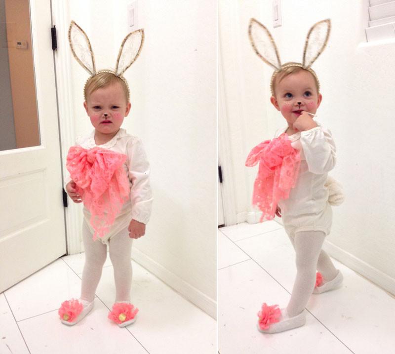 DIY Bunny Costume Toddler  DIY Bunny Costume whippycake Whippy Cake