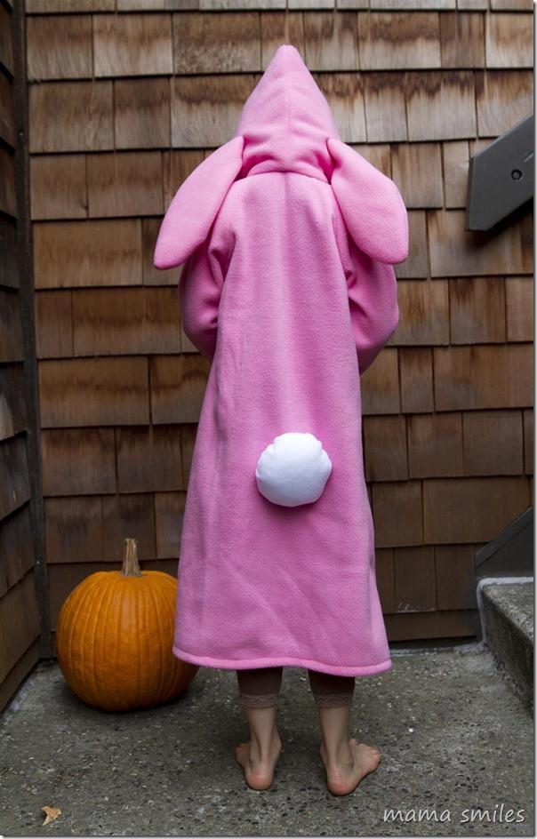 DIY Bunny Costume Toddler  Fleece DIY Halloween Costumes Cat Bunny and Fox Mama