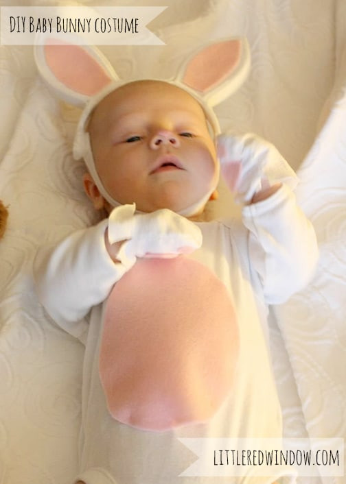 DIY Bunny Costume Toddler  Newborn Baby Bunny Costume Little Red Window