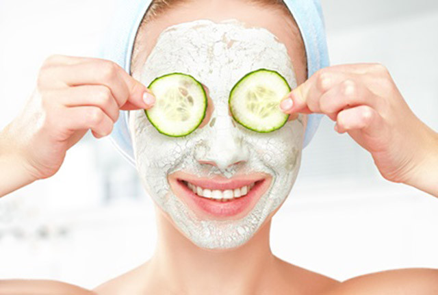 Best ideas about DIY Calming Face Mask . Save or Pin Soothing and nourishing DIY cucumber face mask Now.
