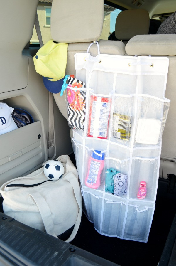 DIY Car Organizer  DIY Car Seat Organizer How to Change Your Cabin Air