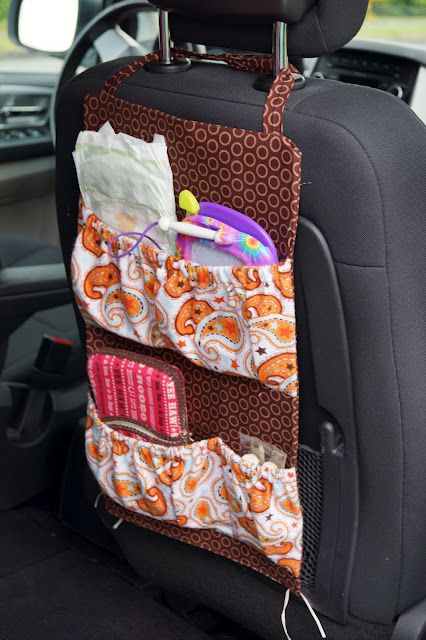 DIY Car Organizer  Best 25 Car Seat Organizer ideas on Pinterest