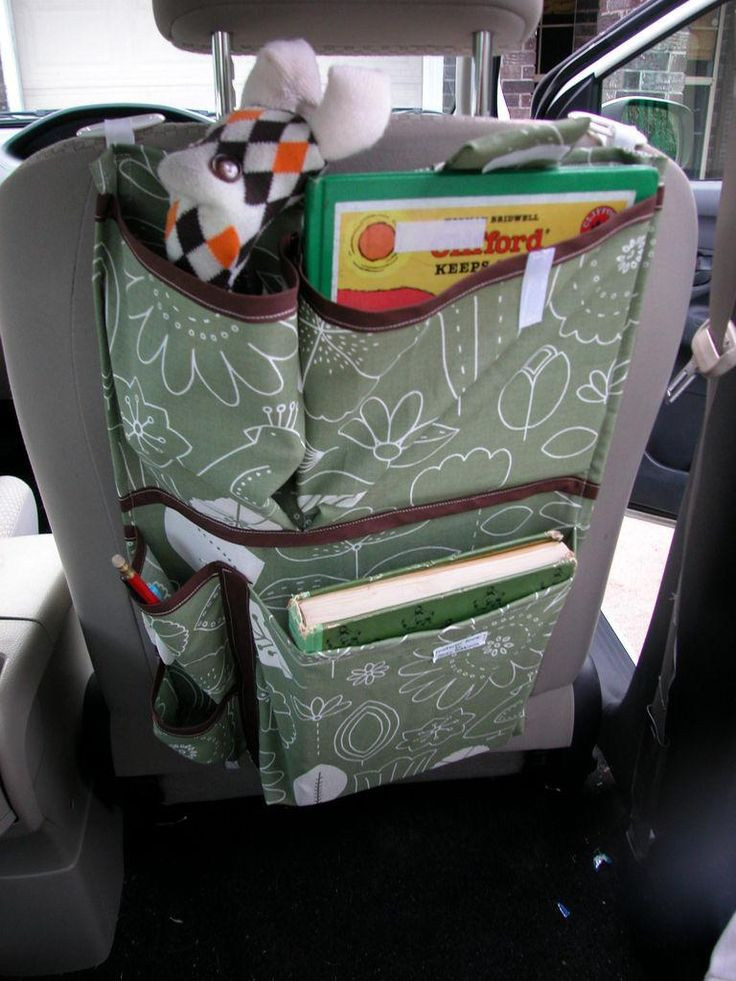 DIY Car Organizer  DIY Tutorial Diy back to school DIY Nifty Car Organizer