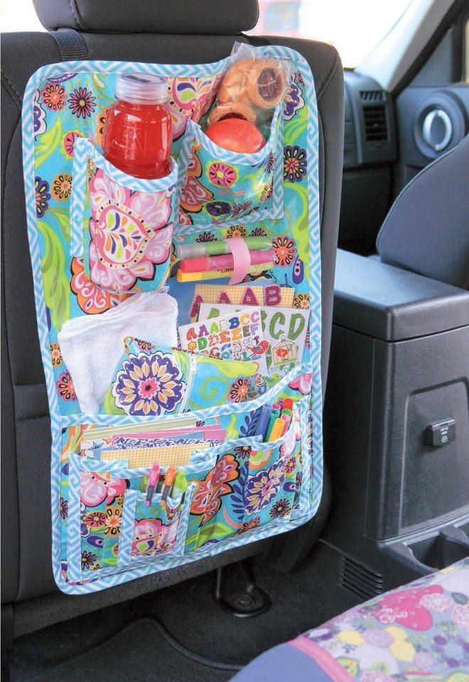 DIY Car Organizer  17 Best images about ☀ Autovakantie on Pinterest