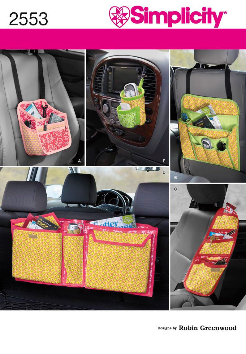 DIY Car Organizer  2553 Crafts Crafts car organizers tailored for baby