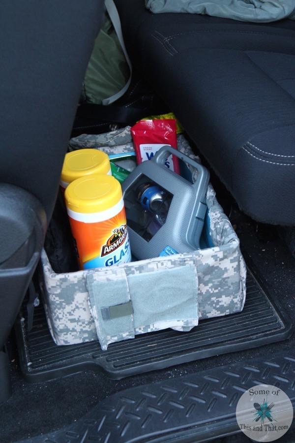 DIY Car Organizer  DIY Car Organizer for Men Some of This and That