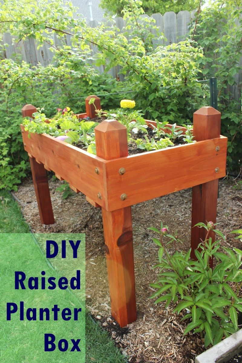 Best ideas about DIY Cedar Planter Box . Save or Pin DIY Raised Planter Box – A Step by Step Building Guide Now.