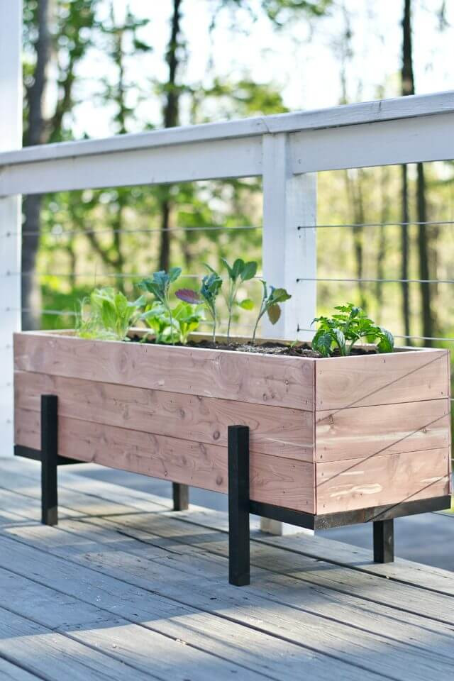 Best ideas about DIY Cedar Planter Box . Save or Pin 32 Best DIY Pallet and Wood Planter Box Ideas and Designs Now.