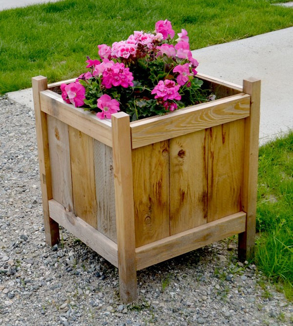 Best ideas about DIY Cedar Planter Box . Save or Pin 12 Outstanding DIY Planter Box Plans Designs and Ideas Now.