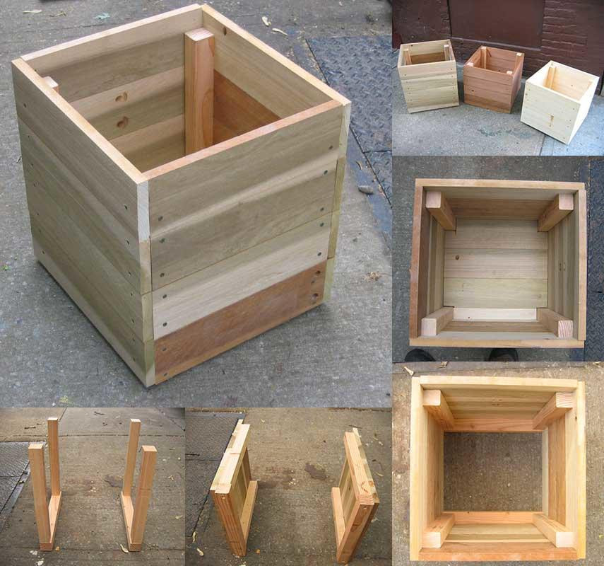 Best ideas about DIY Cedar Planter Box . Save or Pin 14 Square Planter Box Plans Best for DIY Free Now.