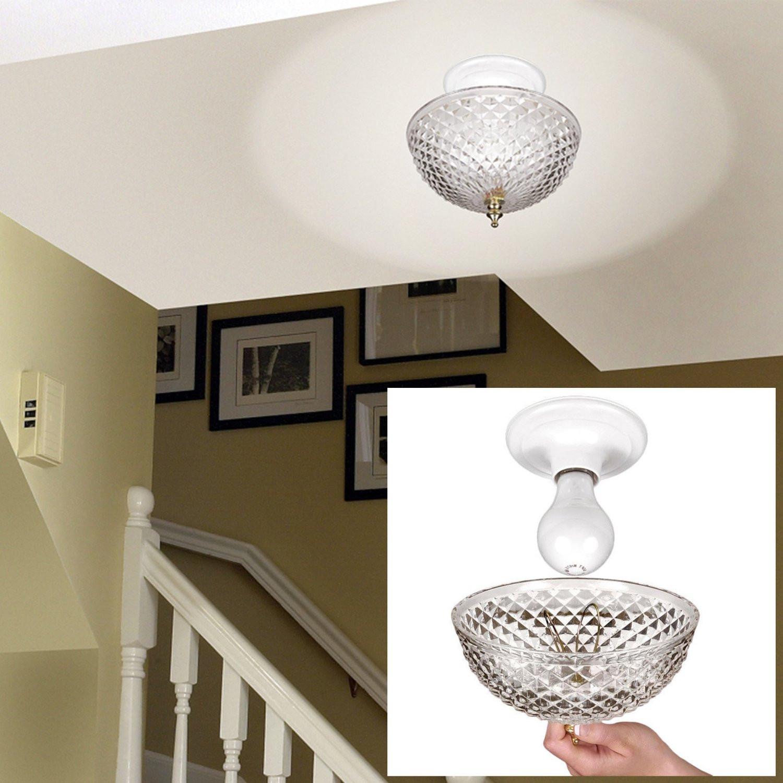 DIY Ceiling Light Cover  Diy Ceiling Light Cover