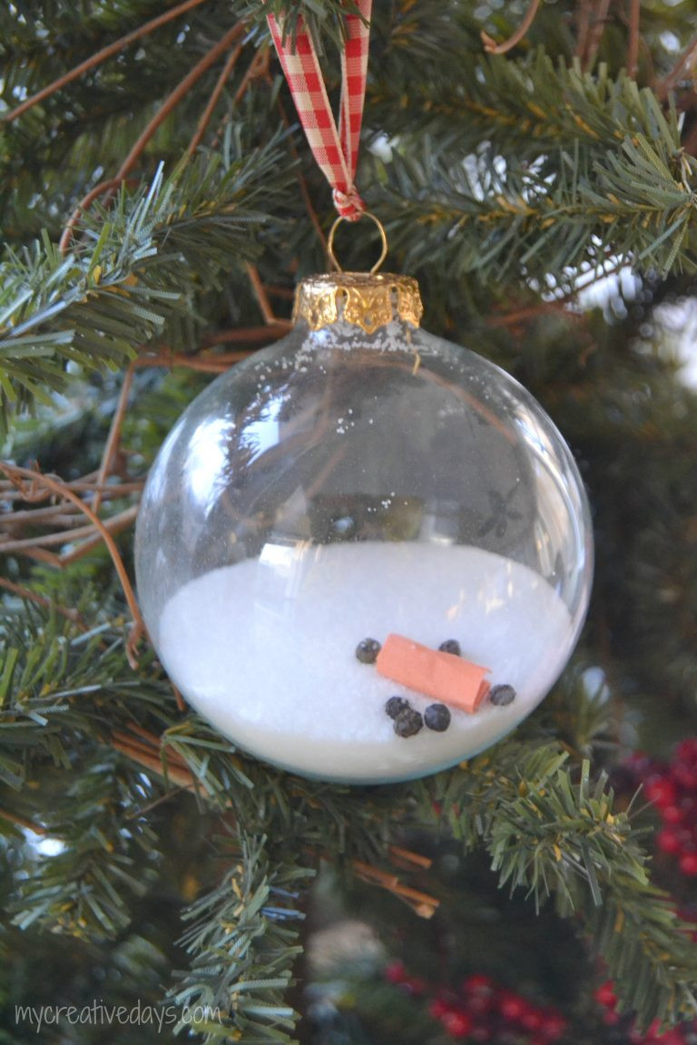Best ideas about DIY Christmas Balls . Save or Pin A Homemade Christmas Ornament that uses kitchen staples to Now.
