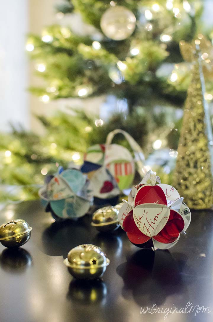 Best ideas about DIY Christmas Balls . Save or Pin DIY Christmas Card Ornaments with Free Cut File Now.