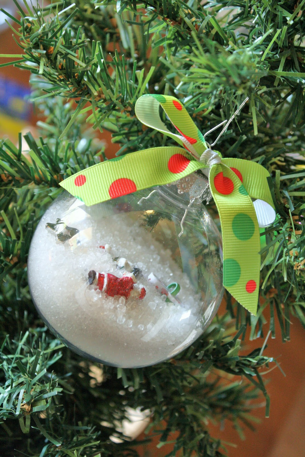 Best ideas about DIY Christmas Balls . Save or Pin I Spy Ornaments Now.