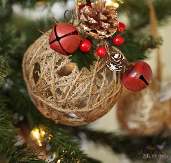 Best ideas about DIY Christmas Balls . Save or Pin 16 Homemade Christmas Ornaments DIY Christmas Crafts Now.