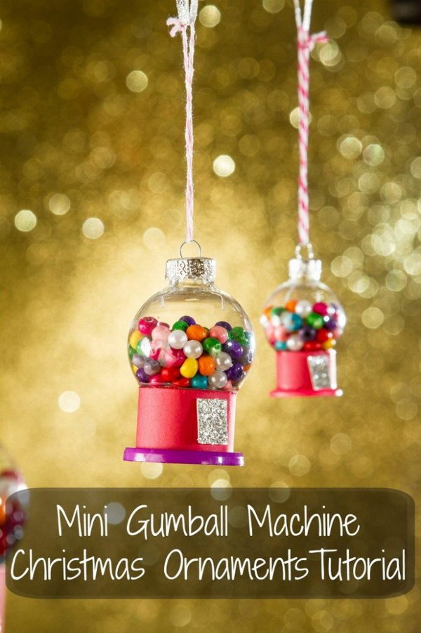 Best ideas about DIY Christmas Balls . Save or Pin 30 DIY Christmas Ornament Ideas & Tutorials Hative Now.