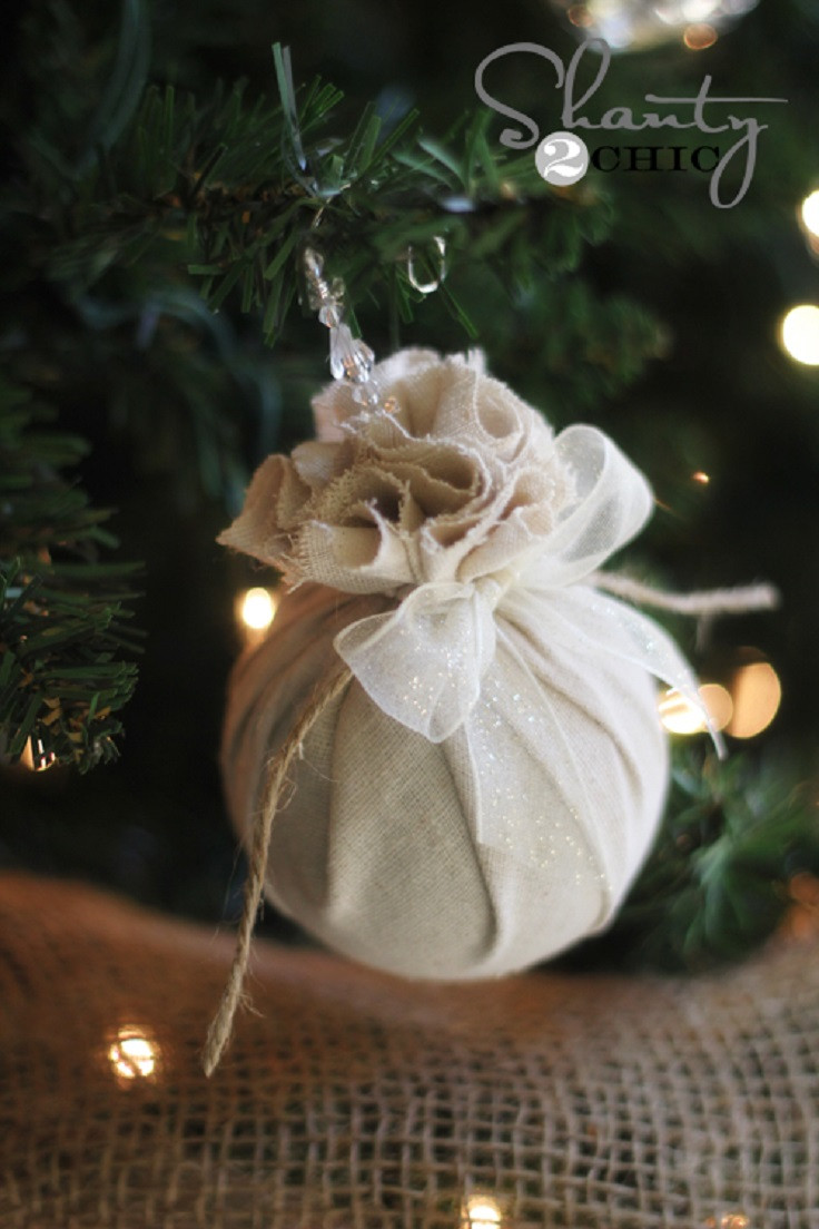 Best ideas about DIY Christmas Balls . Save or Pin Top 10 DIY Christmas Ornaments Now.